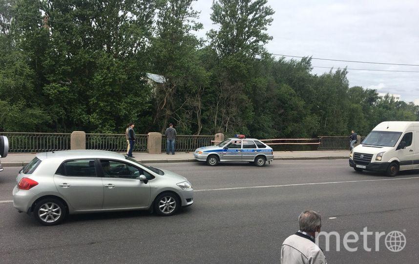 Фото с места происшествия в Красногвардейском районе. Фото vk.com