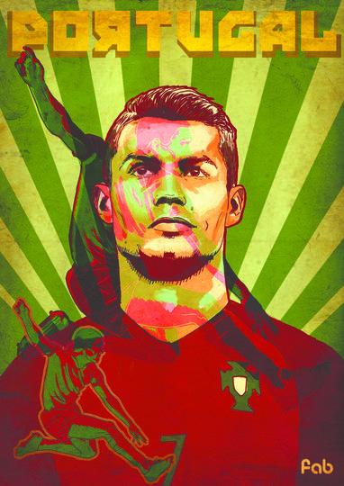 Нападающий сборной Португалии Криштиану Роналду. Фото Фабрицио Биримбелли