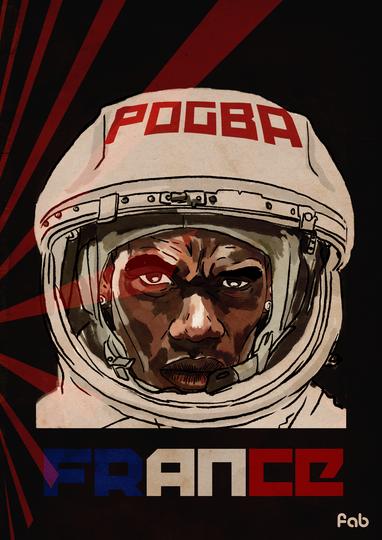 Футболист сборной Франции Поль Погба. Фото Фабрицио Биримбелли