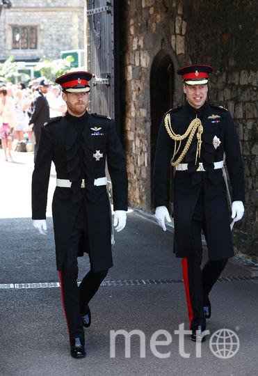 Герцог Кембриджский и его брат принц Гарри. Фото Getty