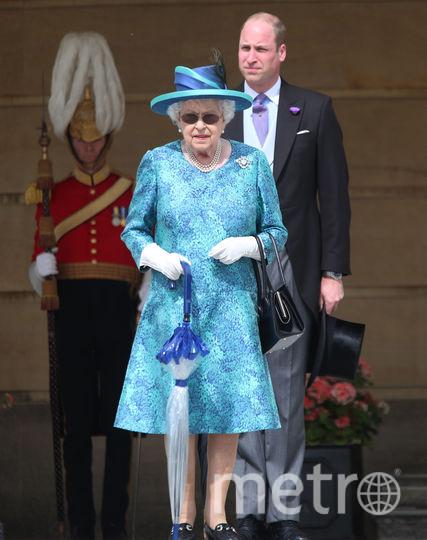 Принц Уильям с бабушкой Елизаветой II. Фото Getty