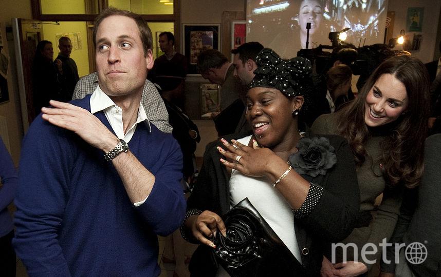 Принц Уильям может и потанцевать. Фото Getty