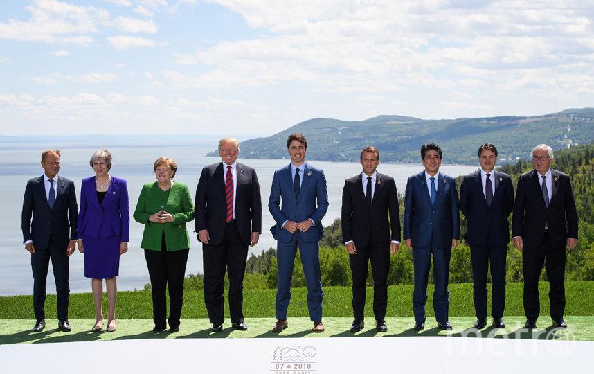 Лидеры G7. Фото Getty