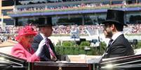 Скачки в Аскоте: на третий день Елизавета II выбрала красный