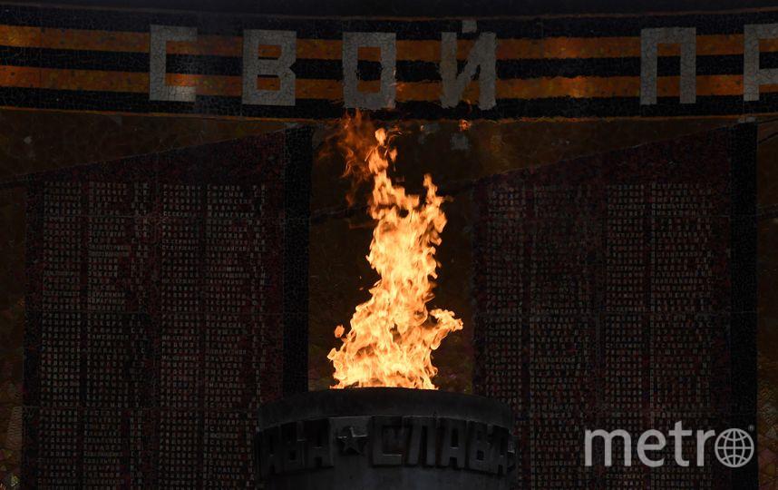 Вечный огонь в Волгограде в память о погибших войнах. Фото AFP