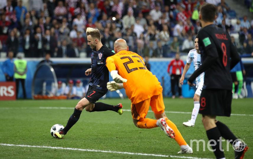 С матча Аргентина - Хорватия. Фото Getty