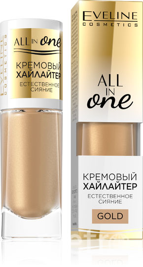 "Кремовый хайлайтер Eveline Cream Face Illuminator all in one. Фото предоставлено пресс-службой бренда, ""Metro"""