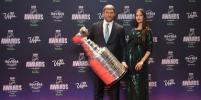 Беременная Настя Шубская поддержала Овечкина на NHL Awards-2018: фото