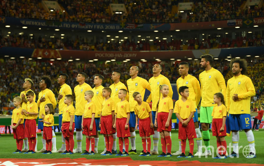 Бразильская сборная на ЧМ - 2018. Фото Getty