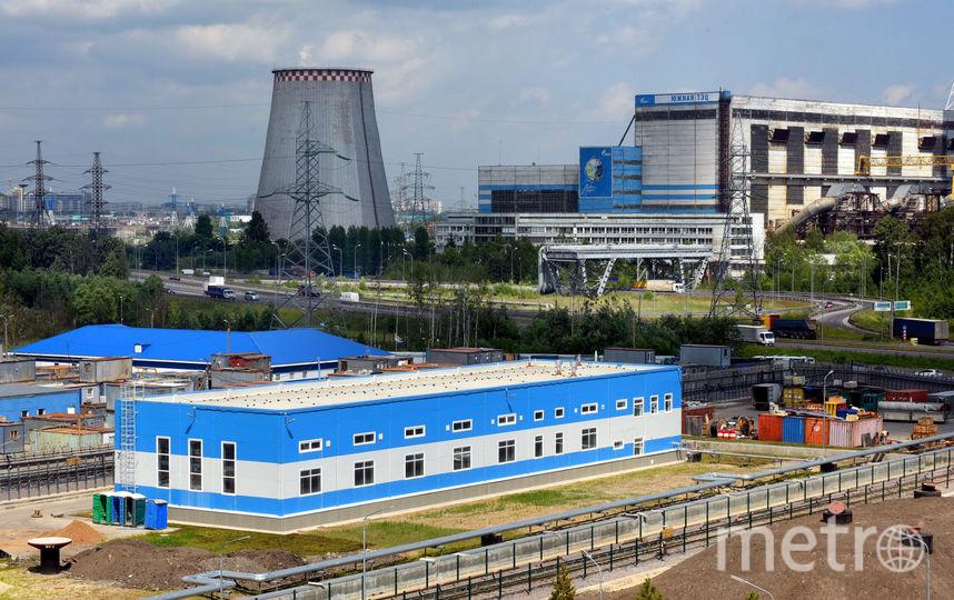 """Депо """"Южное"""" полностью построено. Фото krti.gov.spb.ru"""