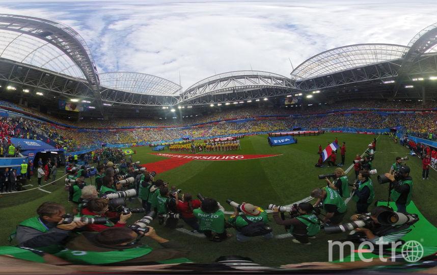 "Панорама стадиона ""Санкт-Петербург"". Фото Getty"