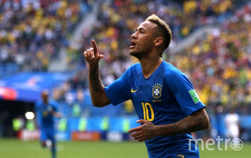 Неймар – автор второго забитого гола сборной Бразилии. Фото Getty