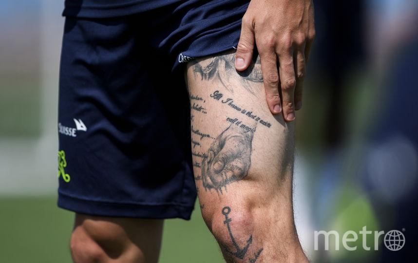 Полузащитник сборной Швейцарии Стивен Цубер. Фото AFP