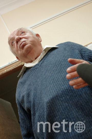Поэт Наум Коржавин во время передачи своего творческого архива в РГАЛИ (Российский государственный архив литературы и искусства).2007-й год. Фото РИА Новости