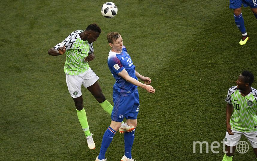 С тремя очками сборная Нигерии поднялась на второе место в группе D. Фото AFP