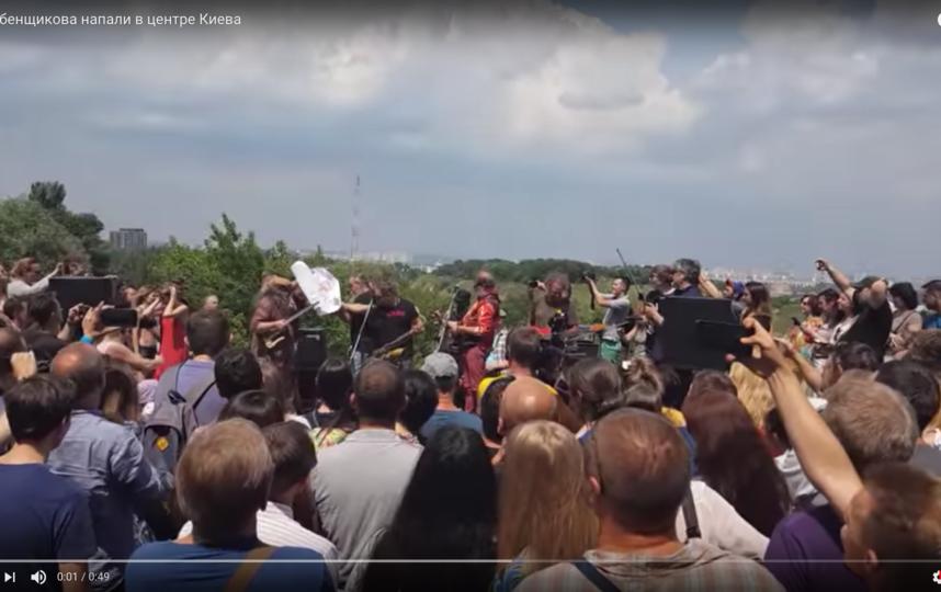 Борис Гребенщиков. Фото Скриншот Youtube
