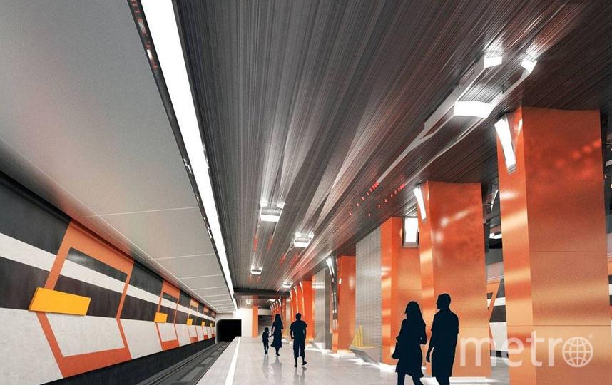 """Станция """"Боровское шоссе"""". Фото stroi.mos.ru"""