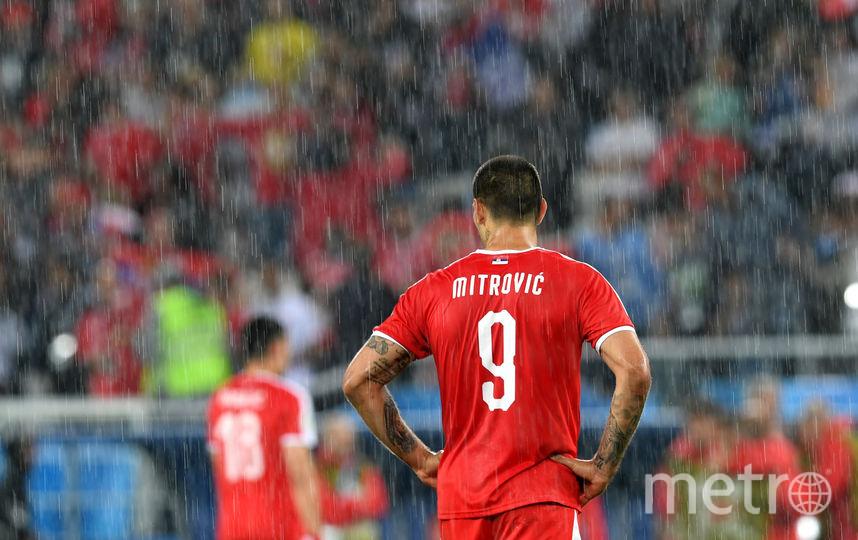 Швейцария - Сербия. Фото Getty