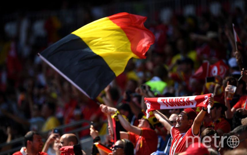 Матч Бельгия – Тунис. Фото Getty