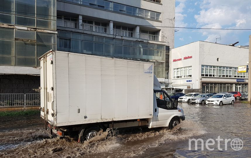 "Последствия ливня 23 июня. Фото Василий Кузьмиченок, ""Metro"""