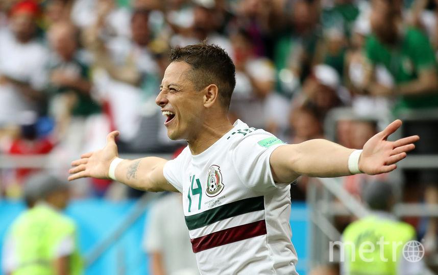 Чичарито (прозвище Хавьера Эрнандеса) – рекордсмен по числу голов за сборную Мексики. Фото Getty
