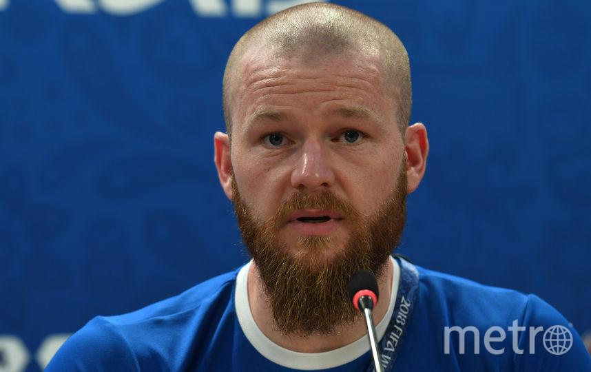 Арон Гуннарссон. Фото AFP