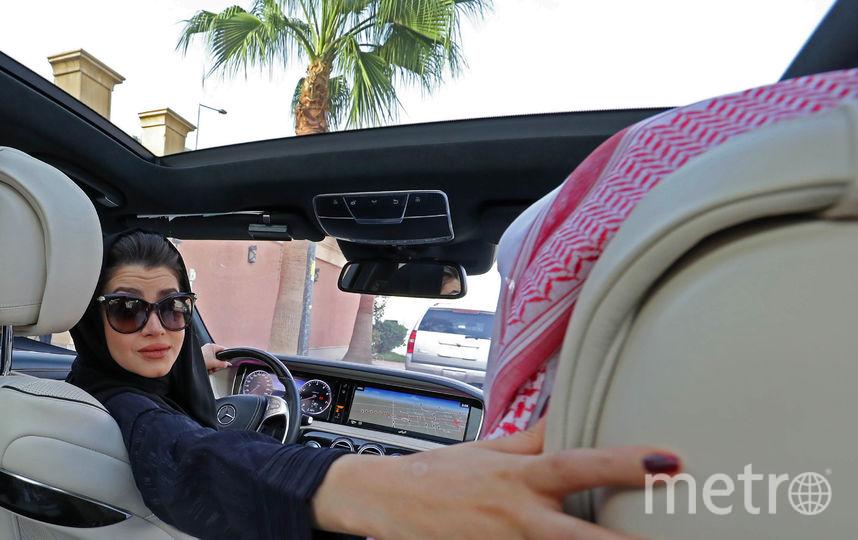 В последние годы саудовские женщины начали выкладывать свои фотографии за рулем в социальные сети. Фото AFP