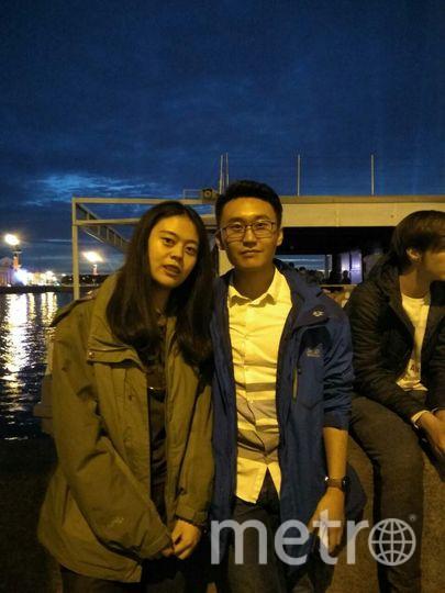 """Яши, студентка из Китая, с другом. Фото все - Наталья Сидоровская, """"Metro"""""""