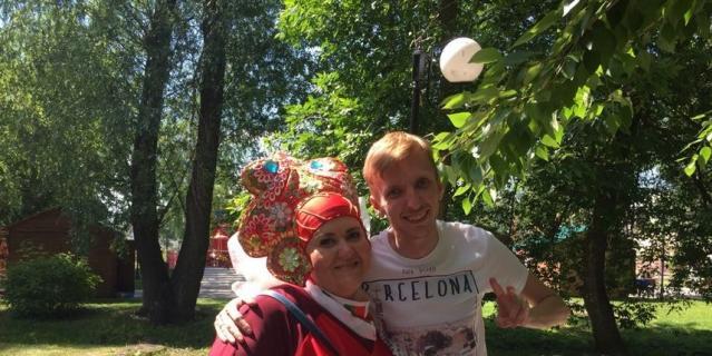 Репортёр Metro Кирилл Сосков (справа) и Марина Богомолова.
