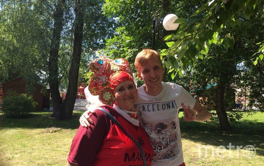 """Репортёр Metro Кирилл Сосков (справа) и Марина Богомолова. Фото Кирилл Сосков, """"Metro"""""""