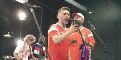 Слепаков и Шнуров записали клип про сборную России