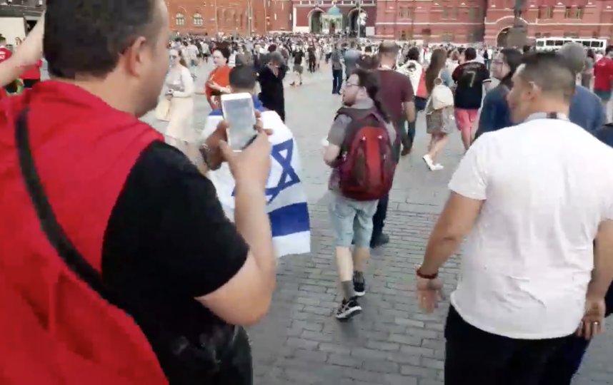 Скриншот из видео. Фото facebook.com/tounesfootball