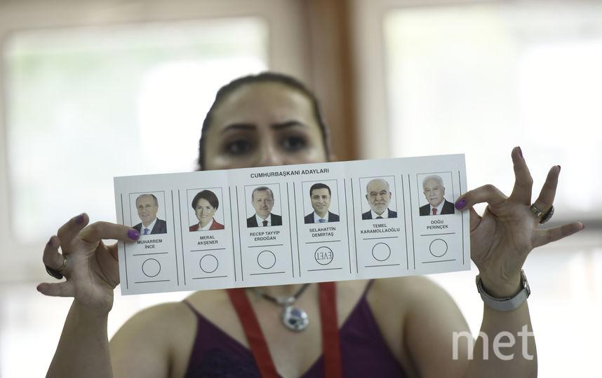 Выборы в Турции. Фото AFP
