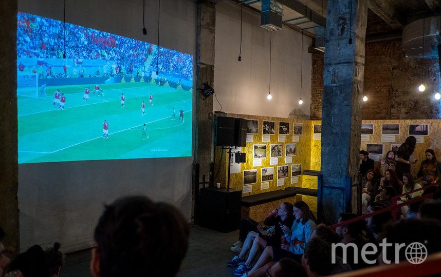 """Copa90 Clubhouse на """"Трёхгорной мануфактуре"""". Фото ТиМа Балдин"""