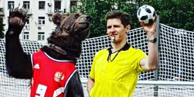 Медведь Яков Потапыч.