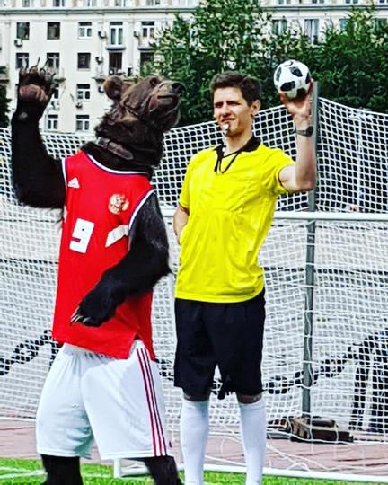 Медведь Яков Потапыч. Фото Скриншот Instagram: oleg.potapich