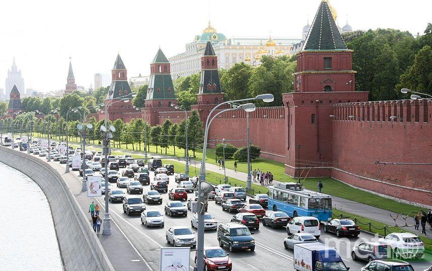 В Москве появился велопатруль. Фото Василий Кузьмичёнок