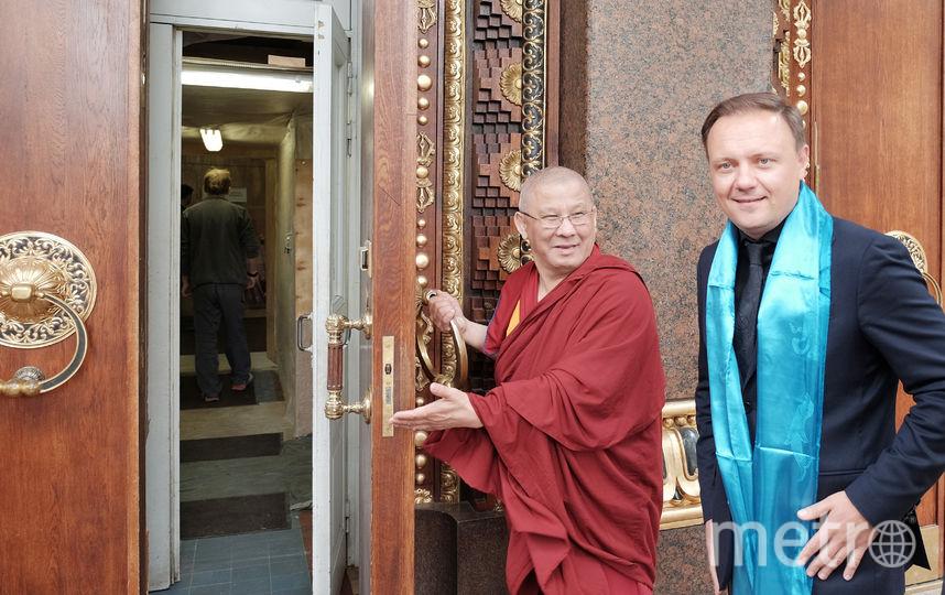 """Настоятель дацана Буда Бадмаев уверен, что реставрация не должна идти в спешке. Фото Алена Бобрович, """"Metro"""""""