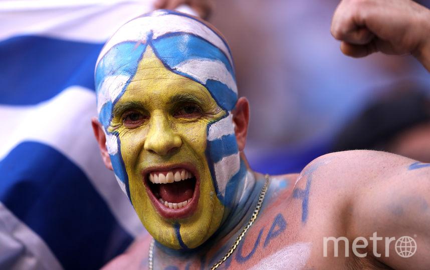 Матч Россия-Уругвай. Фото Getty