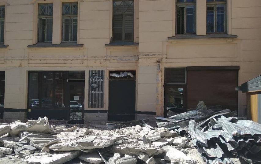 "Улица Рубинштейна уже переживала зачистку. Фото Архивное фото, ""Metro"""