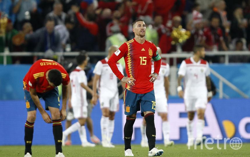 Испания - Марокко. Фото Getty