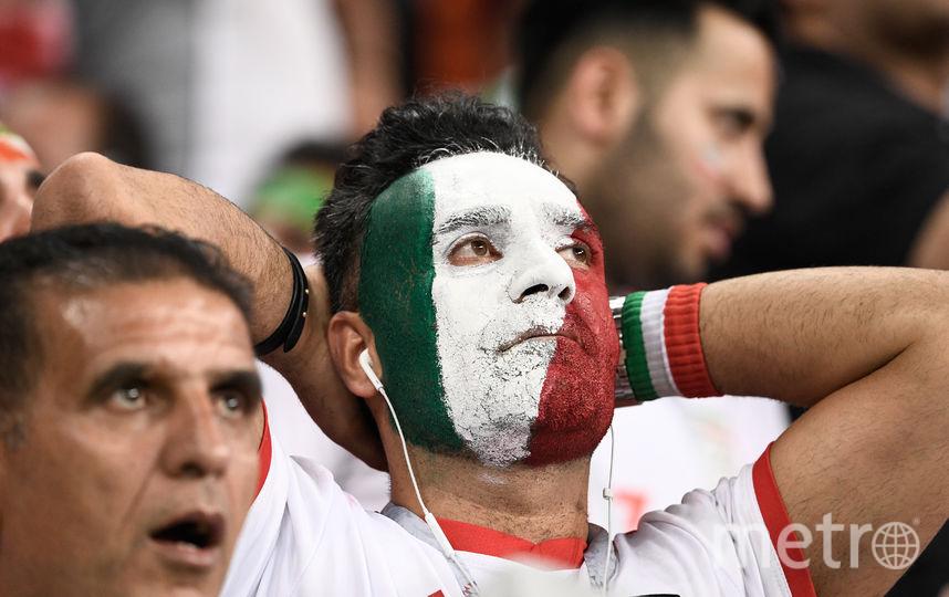 Иранцы расстроены поражением от португальцев. Фото AFP