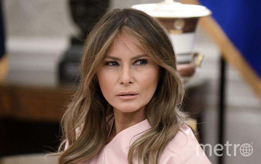 Мелания Трамп в Белом доме. Фото Getty