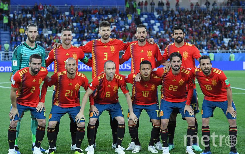 Сборная Испании. Фото AFP
