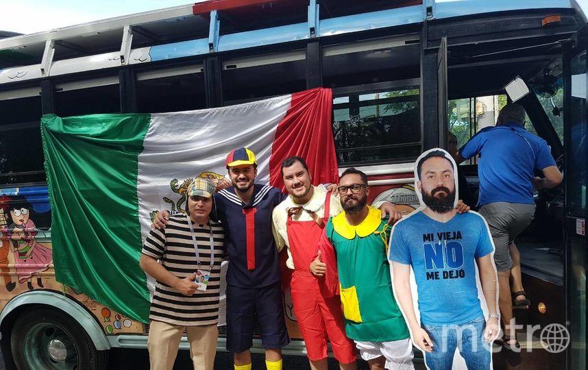 Мексиканец приехал в Россию вслед за своей картонной копией. Фото  Ingue Su Matrushka /facebook