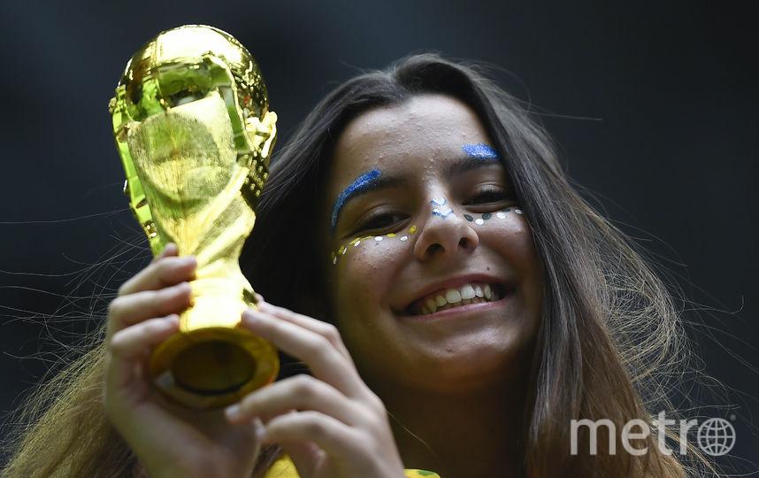 Болельщица из Бразилии. Фото AFP