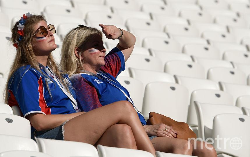 Болельщицы матча Нигерия – Исландия. Фото AFP