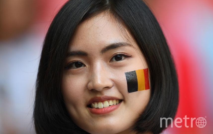 Болельщица на матче Бельгия – Тунис. Фото AFP