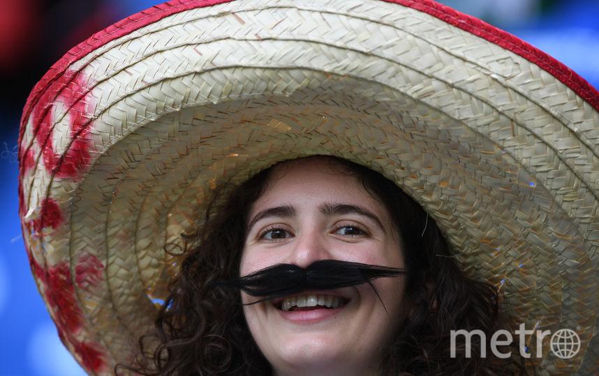 Болельщица из Мексики. Фото AFP