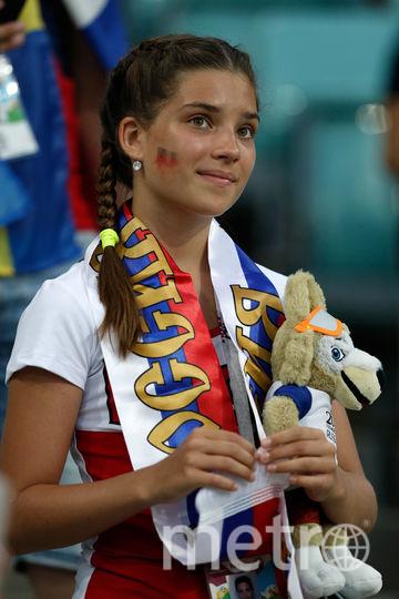 Болельщица матча Германия – Швеция. Фото AFP